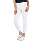 GG Blue Fab Fit Golf Pant - White