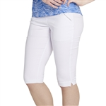 GG Blue Fab Fit Golf Short - White