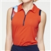GG Blue April Sleeveless Victory/Anthem Golf Polo