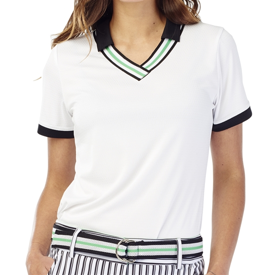 GG Blue Betty Short Sleeve Golf Polo