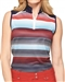 GG Blue Serena Sleeveless Anthem/Navy Golf Polo