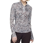 GG Blue Lydia Cheetah/Zebra Golf Long Sleeve