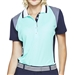 GG Blue Raven Short Sleeve Golf Polo - Fresh/Navy