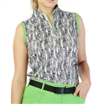 GG Blue Sadie Sleeveless Polo - Rainforest
