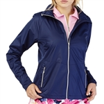 GG Blue Paris Water Resistant Jacket - Navy