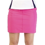 GG Blue Wedge Golf Skort - Cerise