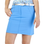 GG Blue Wedge Golf Skort - Caribbean