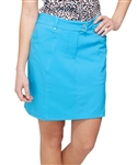 "GG Blue 19"" Wedge Basin Golf Skort"