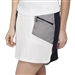 "GG Blue Marker 18"" White/Black Golf Skort"