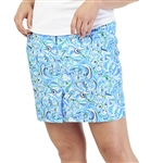GG Blue Dunes Golf Skort - Waves