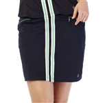 GG Blue Harlo Golf Skort - Black