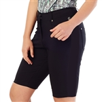 GG Blue Divot Golf Short - Black