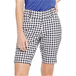 "GG Blue Bunker 20"" Golf Short - Gingham"