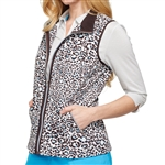 GG Blue Ryan Cheetah Golf Vest