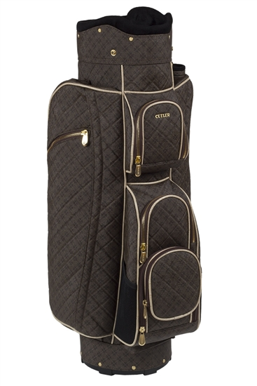 Cutler Cart Golf Bag Bordeaux