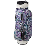 Cutler Davis Purple Golf Bag