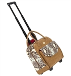 Cutler Rolling Lux Tote - Prosecco