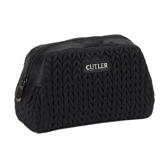 Cutler Large Cosmetic Case - Malbec