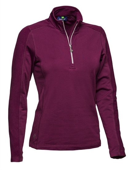 Daily Sports Macy Long Sleeve Golf Polo - Rouge