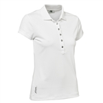 Daily Sports Mindy Cap Sleeve Polo - White