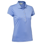 Daily Sports Mindy Cap Sleeve Polo - Blue Bell