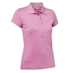Daily Sports Mindy Cap Sleeve Polo - Rosebloom