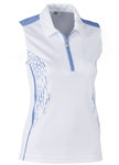Daily Sports Memphis Sleeveless Polo - Blue Bell