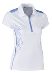 Daily Sports Memphis Blue Bell Cap Sleeve Polo