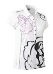 Daily Sports Whitney Cap Sleeve Golf Polo - Rose