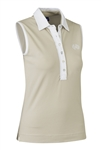 Daily Sports Shea Sleeveless Polo - Sahara