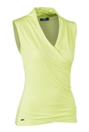 Daily Sports Cara Wrap Top - Sunny Lime
