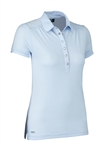 Daily Sports Majken Cap Sleeve Polo - Light Blue
