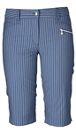 Daily Sports Jody Pinstripe Golf Short - Navy/Blue Bell