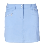 Daily Sports Miracle Golf Skort - Blue Bell