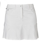 Daily Sports White Swing Golf Skort
