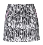 Daily Sports Leja Wind Skort - Black Zebra