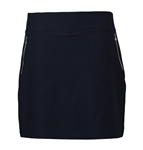 Daily Sports Madge Pull-On Golf Skort - Black