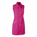 Daily Sports Marina Golf Dress - Raspberry