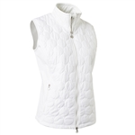 Daily Sports Bertha Quilted Wind Vest - White