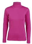 Daily Sports Maggie Long Sleeve Raspberry Roll Neck