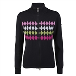 Daily Sports Susy Black Knit Cardigan Sweater
