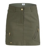"Daily Sports Emma 17.5"" Khaki Golf Skort"