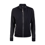 Daily Sports Caddie Perforated Black Jacket