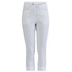 Daily Sports Blade High Water White Golf Capri