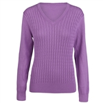 Daily Sports Campbell Lupine Cable Knit Sweater