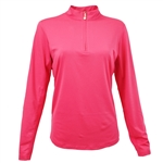 SanSoleil SunGlow UV50 Hot Pink Long Sleeve Top