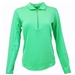 SanSoleil SunGlow UV50 Spring Green Long Sleeve Top