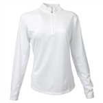 SanSoleil SunGlow UV50 White Long Sleeve Top