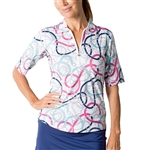 SanSoleil SolCool UV50 Tops -Unbridled Pink