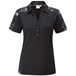PING Willow Short Sleeve Black Polo